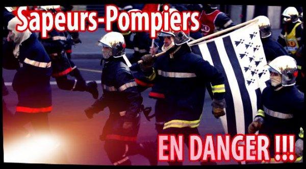 Sapeurs-Pompiers en Colère !!!
