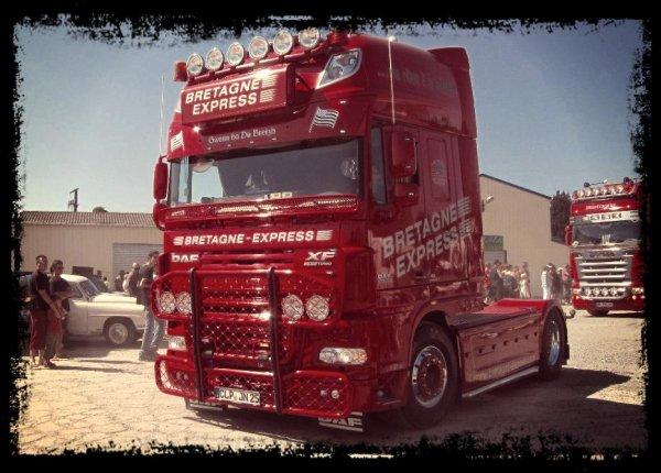 DAF Bretagne express (Rouge)