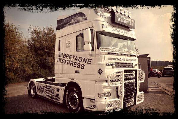 DAF Bretagne express (Blanc)