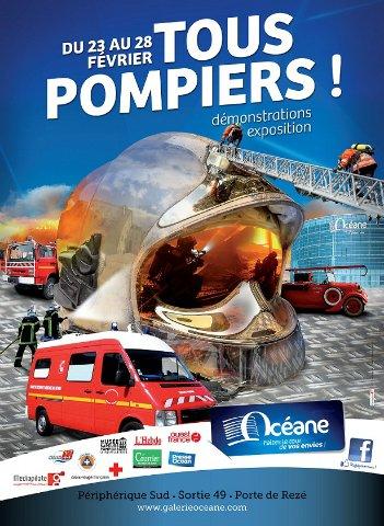 La galerie Océane accueille les sapeurs-pompiers du 23 au 28 février !