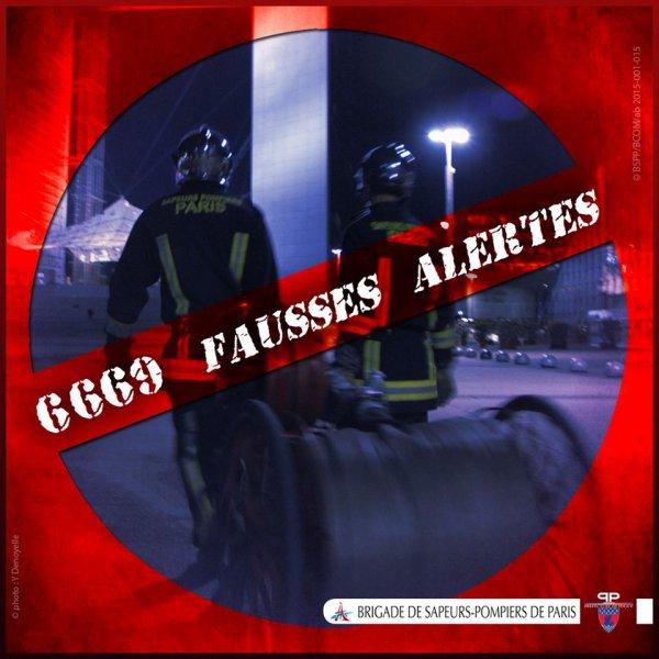 6669 fausses alertes en 2014 sur notre secteur (Paris, Hauts-de-Seine, Seine-Saint-Denis, Val-de-Marne)