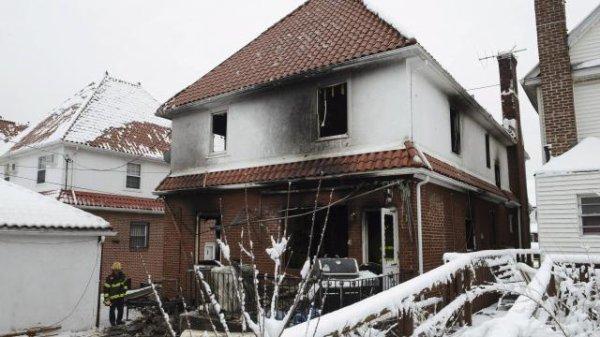 New York. Sept enfants d'une même famille meurent dans un incendie !