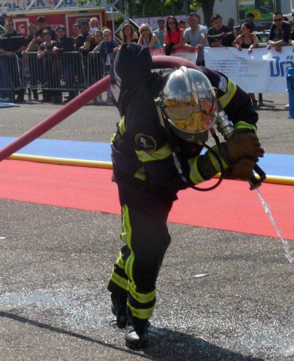 Le petit pompier dinannais va affronter les géants US !