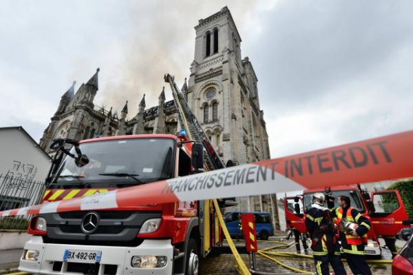 Incendie de la basilique de Nantes. La faute à une opération de soudure !