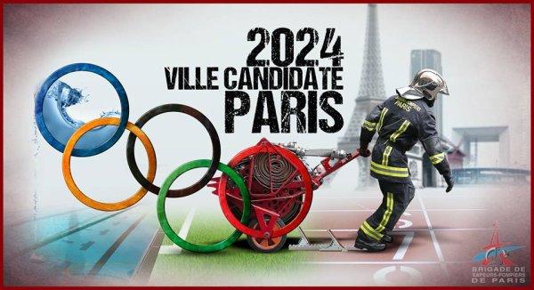 la candidature de Paris pour les JO 2024 !