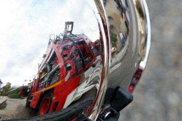 Le sapeur-pompier de l'Isère, héros des réseaux sociaux !