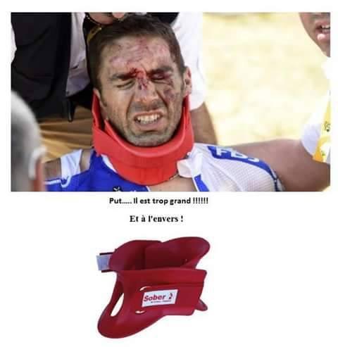 Exemple des sauveteurs du dimanche : Tour de France 2015 3eme étape