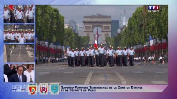 Brigade de sapeurs-pompiers de Paris ( 14 juillet 2015 )