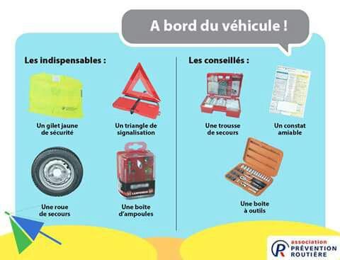 Indispensables dans votre voiture