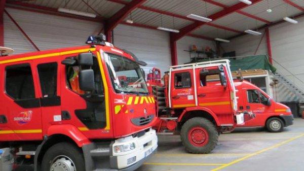 Incendie en Gironde. Les pompiers de Loire-Atlantique en renfort !