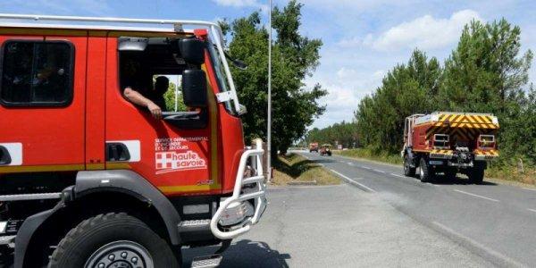 Saint-Jean d'Illac (33) : le feu est officiellement éteint ( Le préfet de la Gironde à déclaré ce matin )