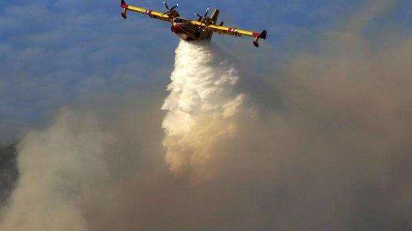 Alpes-Maritimes. 120 hectares brûlés dans un incendie près de Grasse !