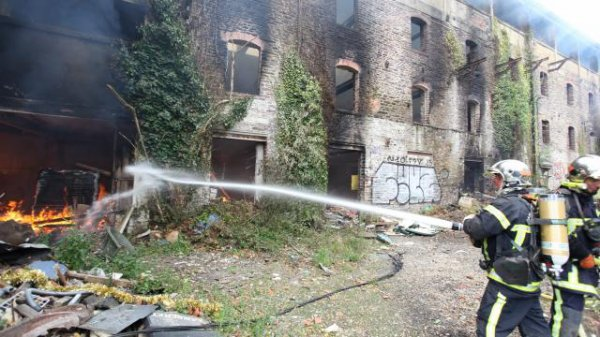 Incendie à Rennes. Les anciennes tanneries de Bretagne ont brûlé !
