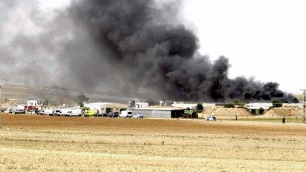 Espagne. Explosion dans une usine de feux d'artifice : cinq morts