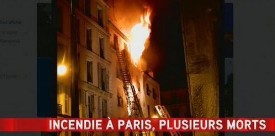 Paris. Violent incendie rue Myrha : huit morts, dont deux enfants