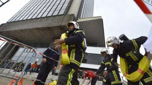 Stair race fire Xtrem. Les pompiers à l'assaut de la Tour Bretagne !