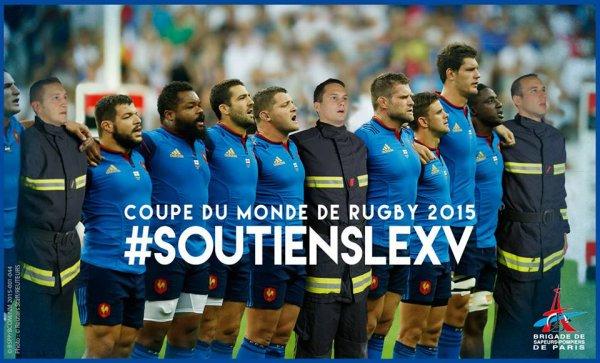 [#Rugby] Tous avec l'équipe de France !!