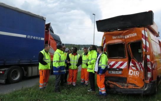 Attainville : les agents de la route ne veulent plus frôler la mort au travail !!