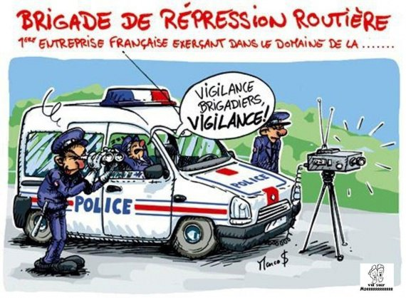#Insolite : Ivre, il fait demi-tour pour demander aux gendarmes à quelle vitesse il roulait !
