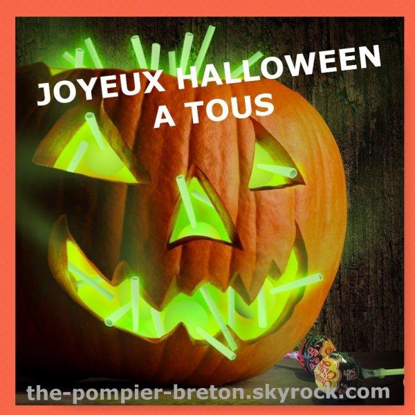 Joyeux Halloween a tous mes z'amis !!!
