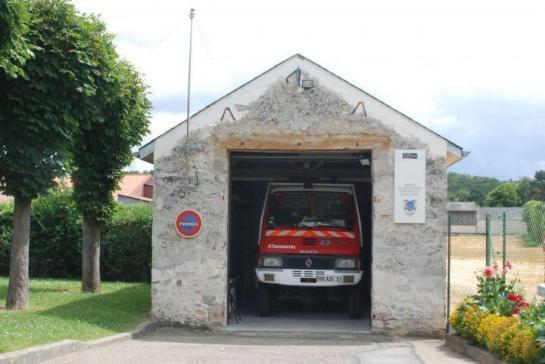 C'est la plus petite caserne de pompiers !!! (SDIS 91.)