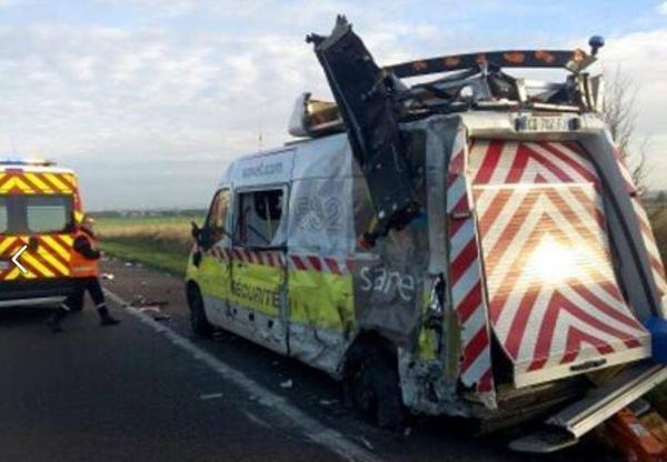 Accident sur l'A4 entre Châlons et Reims : un patrouilleur Sanef blessé !