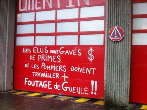 """"""" Pompiers oui,mais à quel prix ?!.."""" #Pompiers #Colère"""