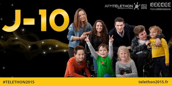 10 jours avant le #telethon2015 ? Etes-vous prêts ?