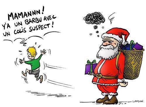 Les Pères Noel risque d'avoir des souci cette année ! #Humour