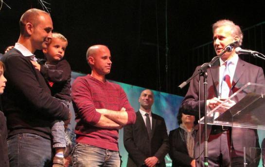 Un pompier de Draveil décoré pour avoir sauvé un enfant de 4 ans !
