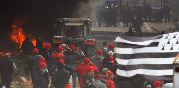 La France va mal .... Mais seul Les Bretons se révoltent !