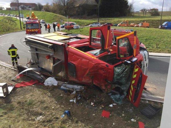 Accident du FPTGP de Montbéliard hier !