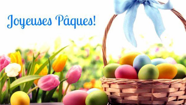 Joyeuse pâques a tous !