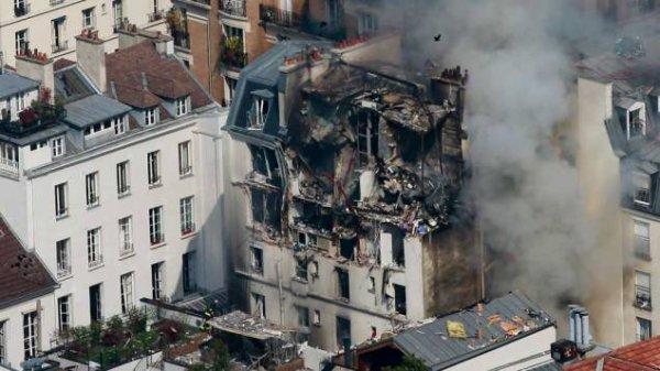 Un pompier grièvement blessé dans une explosion à Paris !