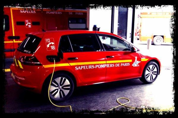 Les sapeurs-Pompiers de Paris roulent en Volkswagen !