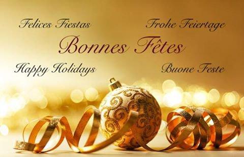 Joyeuse Fêtes de Fin D'Année a Tous !