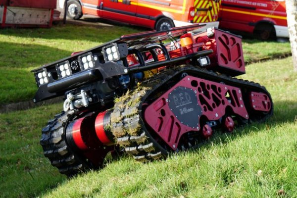 INFO : collosus, le robot qui va assister les pompiers de Paris !