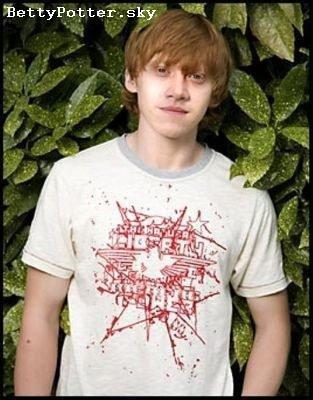 Rupert Grint alias Ronald Weasley
