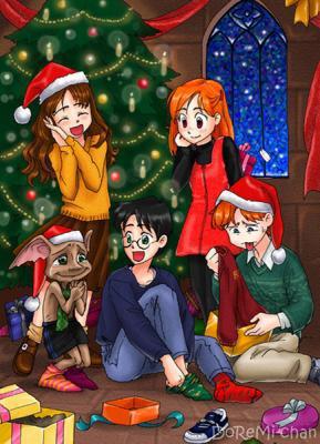 Le 1er Noel De Dobby Avec Harry Potter My Sky