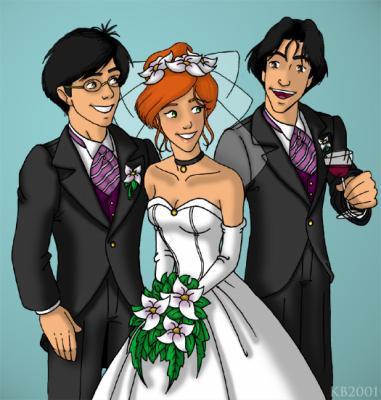 Le MARIAGE de James et Lily