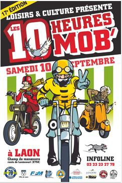 MOB CROSS A LAON LE 10 SEPTEMBRE