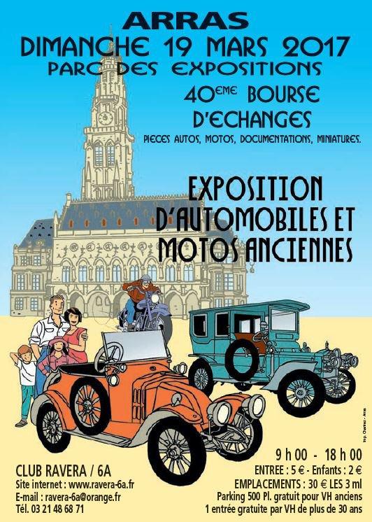 Expo bourse d'échanges Arras le 19 Mars 2017
