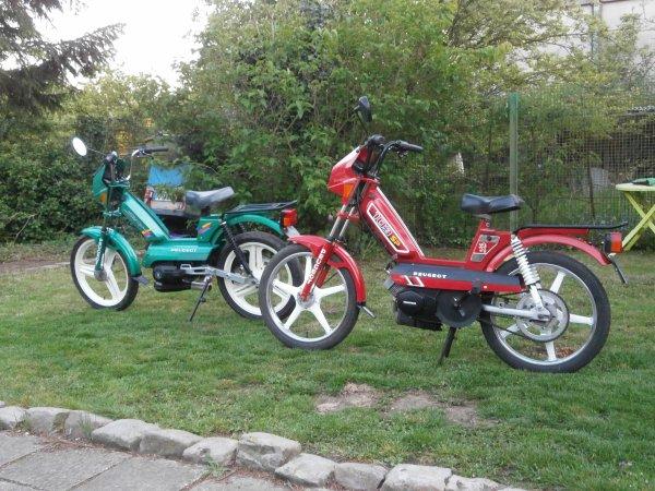 103 SPX 1994 et 103 SP 1986