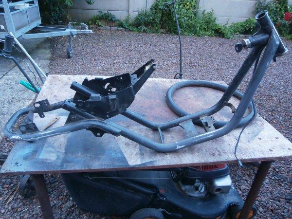 Restauration Peugeot Shag