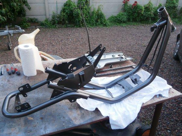 Suite restauration Peugeot Shag