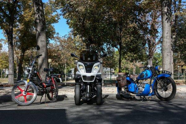Un superbe dimanche aux 120 ans de Peugeot Motocycles
