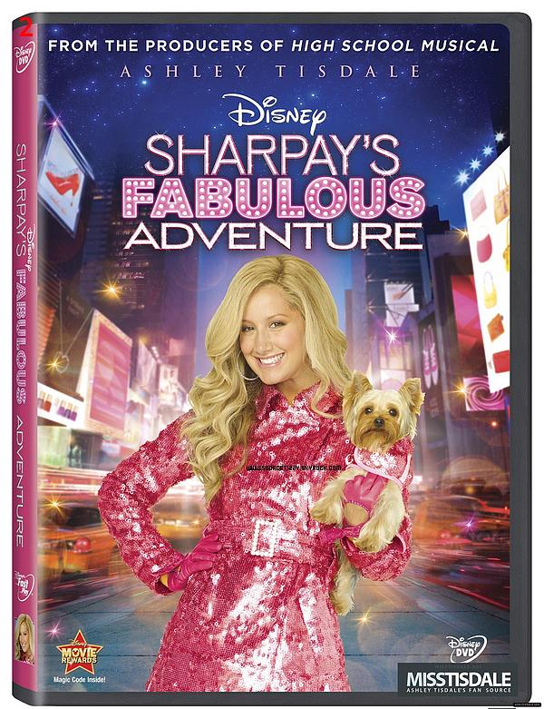 . _____♦ 17 décembre 2010 : Ashley a quitté le plateau de Hellcats pour les vacances de Noël. Elle est donc _____arrivée a l'aéroport de LAX, à son arrivée. (1) _____♦ Voici la pochette du DVD de Sharpay's Fabulous Adventure, qui sortira (normalement) le 19 avril 2011 _____aux USA. (2) .