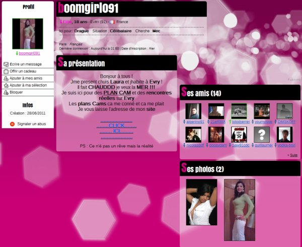 WEBCAM EN TOUT GENRE 28.06.2011