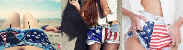 Comment faire un short américain  ?