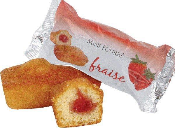 Mini délice fourré fraise